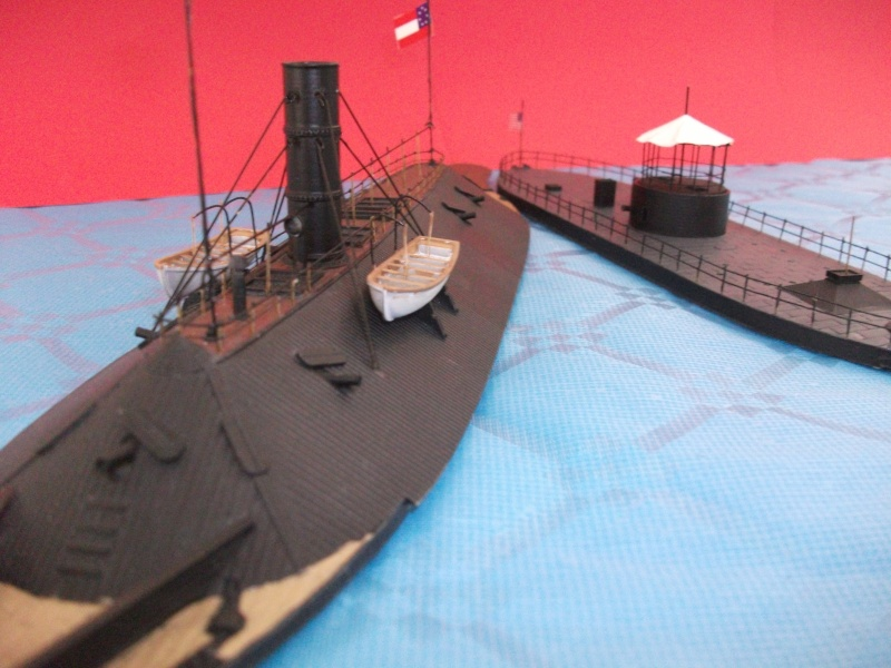 Ironclad USS MONITOR   1/200 Résine Verlinden Dscf1719