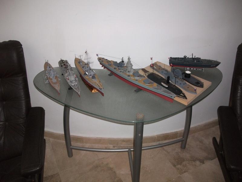 HMS HANNIBAL 1/96  (Predreadnought) DEAN'S MARINE Dscf2115