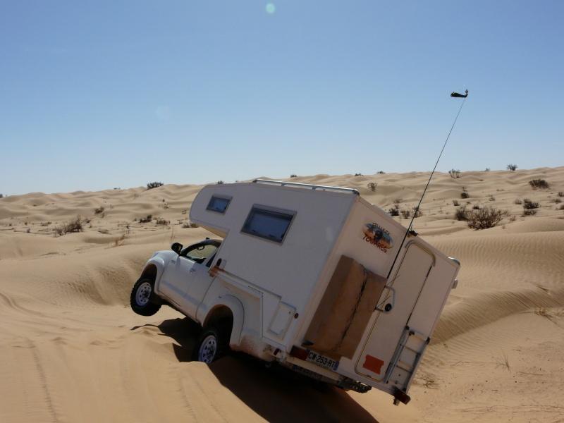 C'est chaud les dunes en Cellule ! 0110