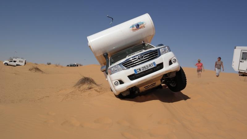 C'est chaud les dunes en Cellule ! 0210
