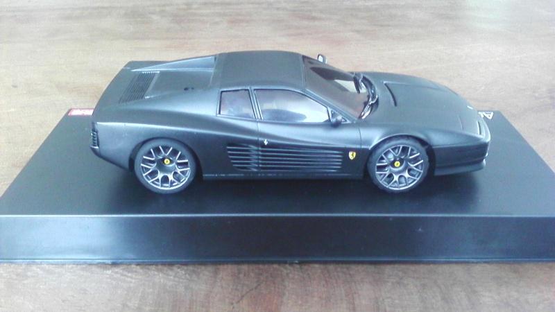 Ferrari testarossa noire mat P_201626