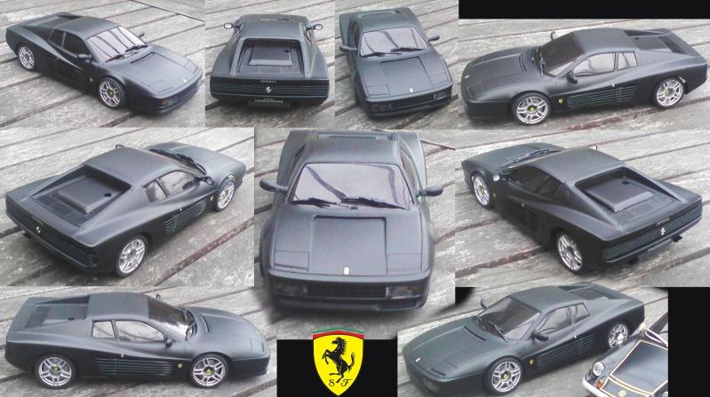Ferrari testarossa noire mat Testar10