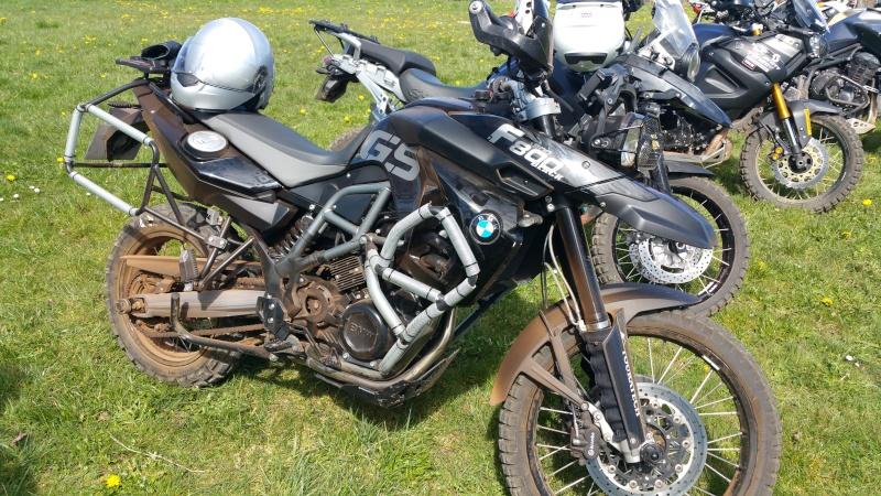 BMW F800 GS Black (Préparation Offroad) - Page 2 20160316