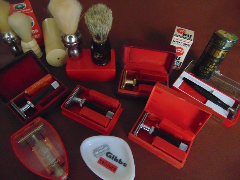 Les différent modèles de rasoirs Gibbs. Dsc02610