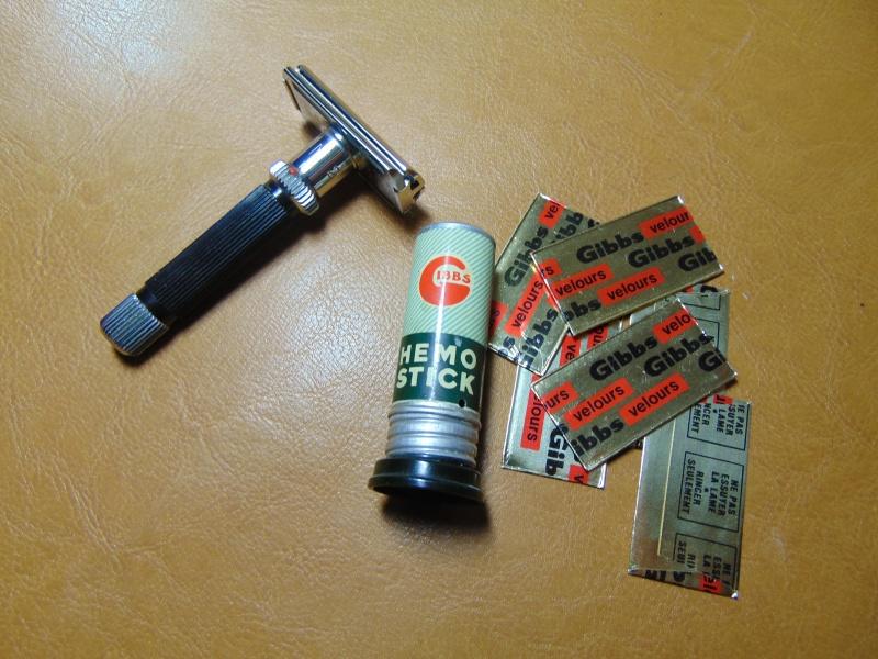 Lames de rasoir GIBBS et produits de la marque Dsc03825