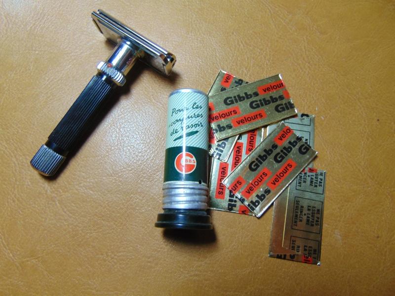 Lames de rasoir GIBBS et produits de la marque Dsc03826