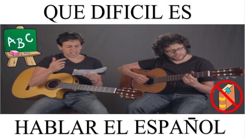 Youtube - Que dificil es hablar en español - El video que hace furor en Youtube Maxres10