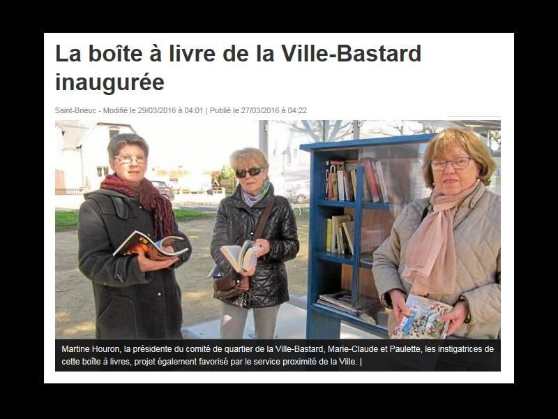 SAINT BRIEUC La boîte à livre de la Ville-Bastard inaugurée  Sans_t57