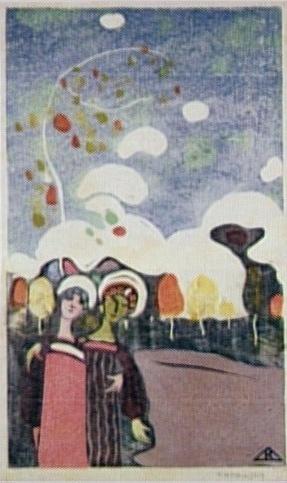 une toile Kandinsky Zwei_m10