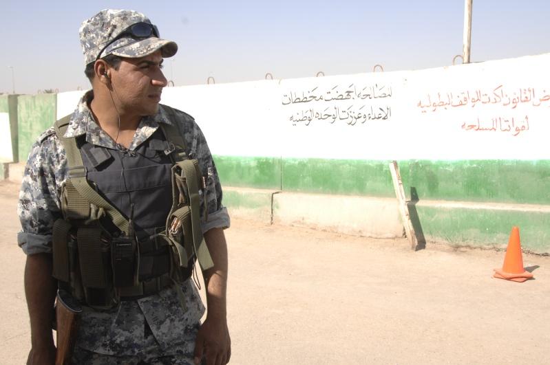 US Made Iraqi Uniform * Blue Digital (ACU Cut) 08042110