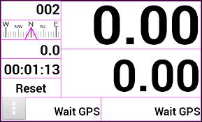 Quel application Androïde facile d'utilisation ou appareil bon marché doit on utiliser pour se rendre à un point GPS ?  Gpstri10