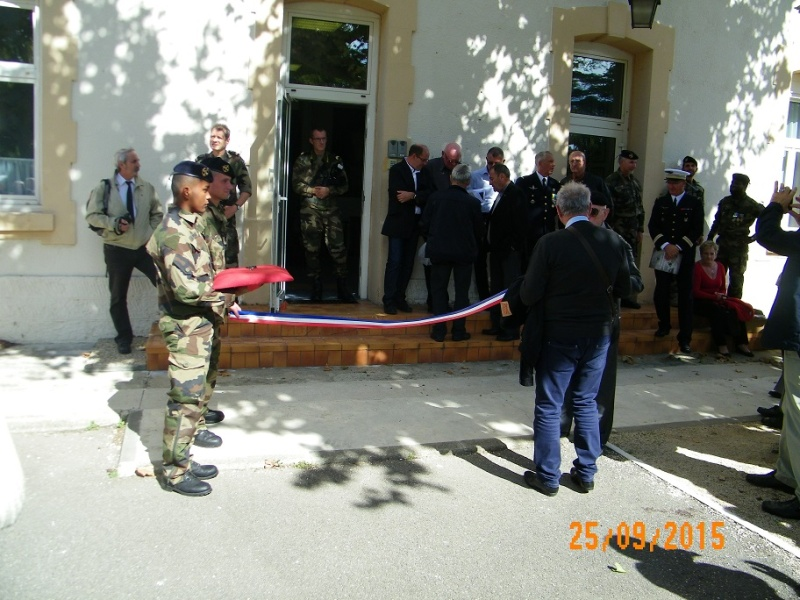 Inauguration du musé des commandos de l'air a Orange pour la Saint Michel 100_2510