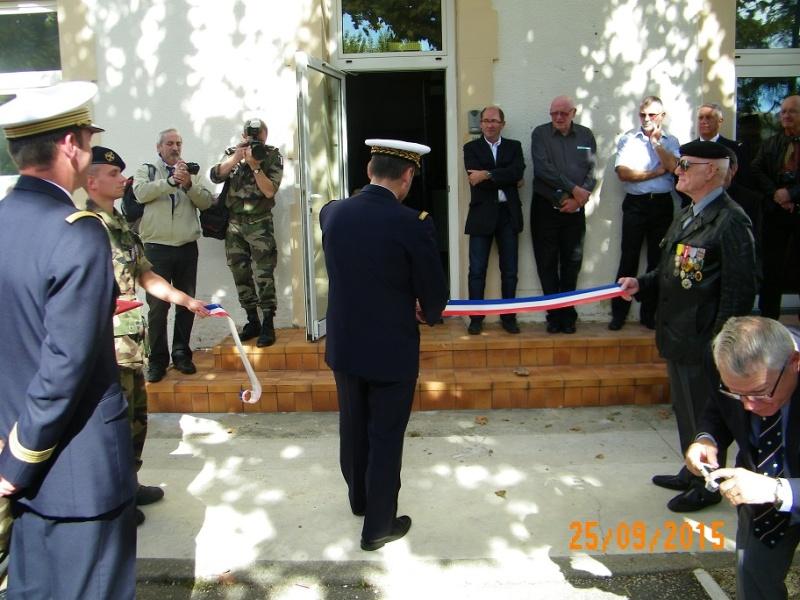 Inauguration du musé des commandos de l'air a Orange pour la Saint Michel 100_2511