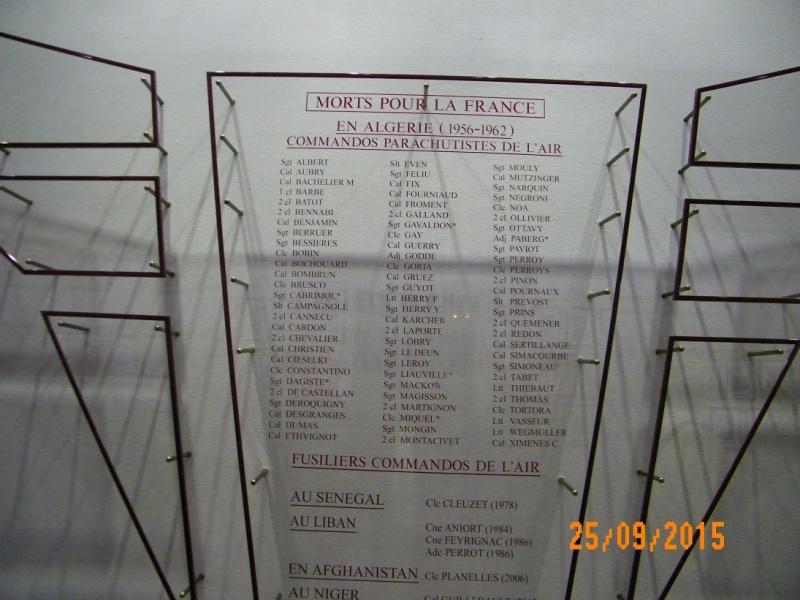 Inauguration du musé des commandos de l'air a Orange pour la Saint Michel 100_2610