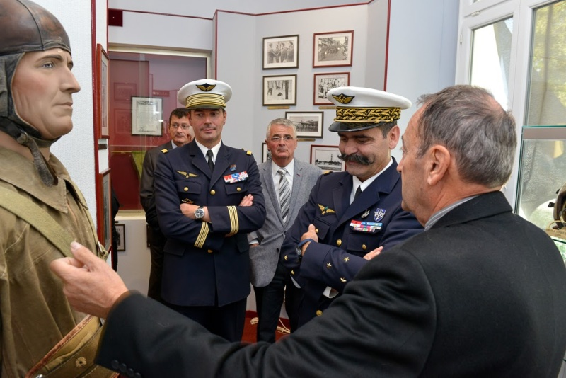 Inauguration du musé des commandos de l'air a Orange pour la Saint Michel 2015_a11