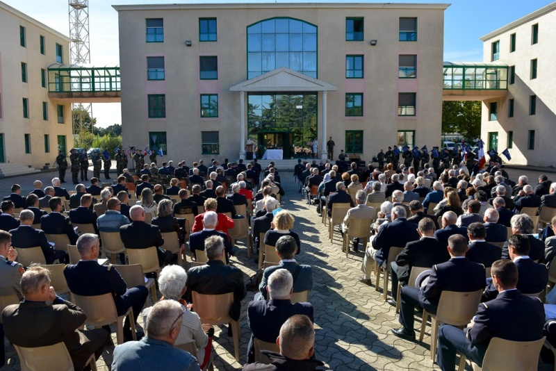 Inauguration du musé des commandos de l'air a Orange pour la Saint Michel 2015_a15