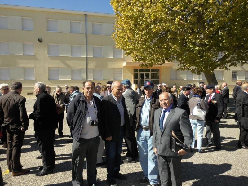 Inauguration du musé des commandos de l'air a Orange pour la Saint Michel Image410