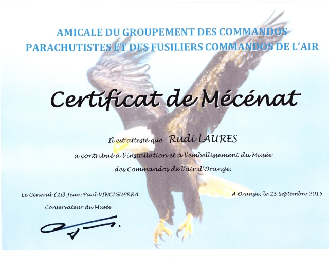 Inauguration du musé des commandos de l'air a Orange pour la Saint Michel Musy_c12