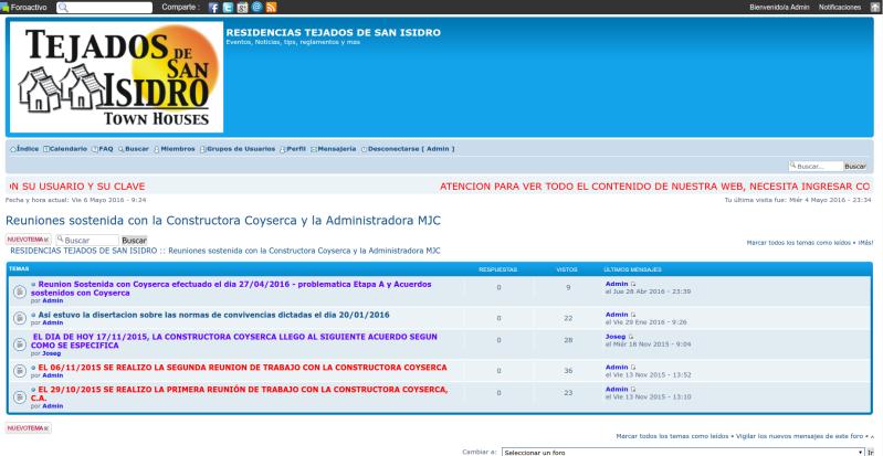 INSTRUCCIONES PARA LEER TODOS LOS TEMAS DE TEJADOS.ACTIVO.IN Ejempl10