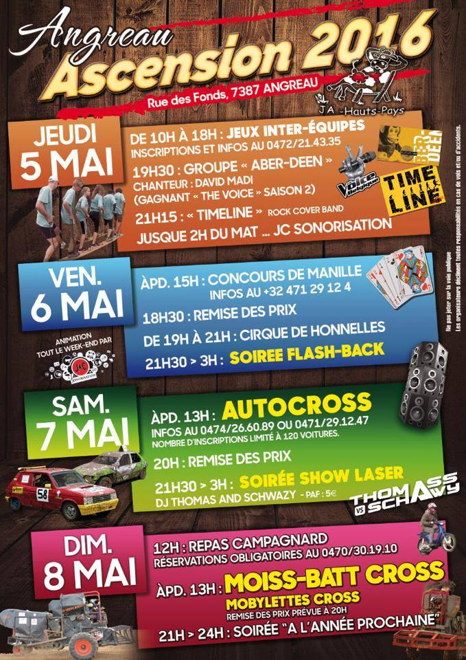 auto cross 2016 JA des Hauts-Pays du 05 au 8 mai 12931110