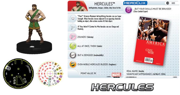 [News] Marvel Heroclix Civil War Mv201612