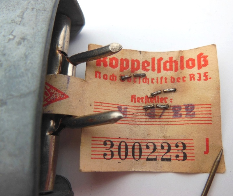 HJ buckle  RZM M4/22 CTD Christian Théodor Dicke Dscn5917