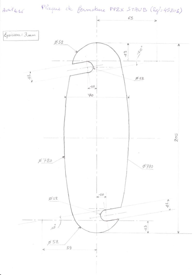 plaque de protection sortie de boite PPX S6 Plaque10
