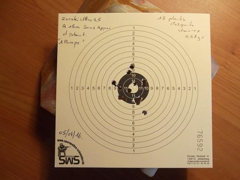 Premier carton avec mon Zoraki Ultra Sam_2233
