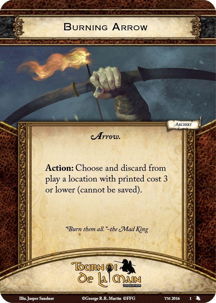 [TM 2017] Règles du Side Event Tir à l'arc / Rules of the Archery Side Event Burnin11