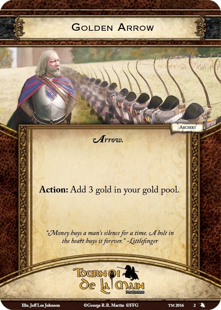 [TM 2017] Règles du Side Event Tir à l'arc / Rules of the Archery Side Event Golden10