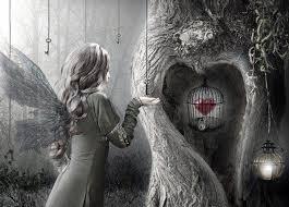 Le cœur emprisonné, affublé de chagrin. Tylych10