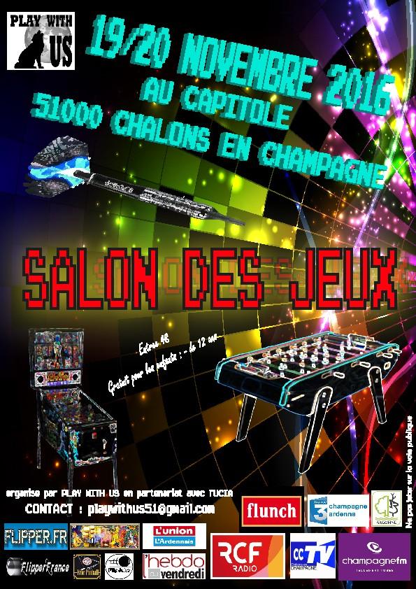 2016 - Salon des jeux - Capitole - CHALONS EN CHAMPAGNE Affich10