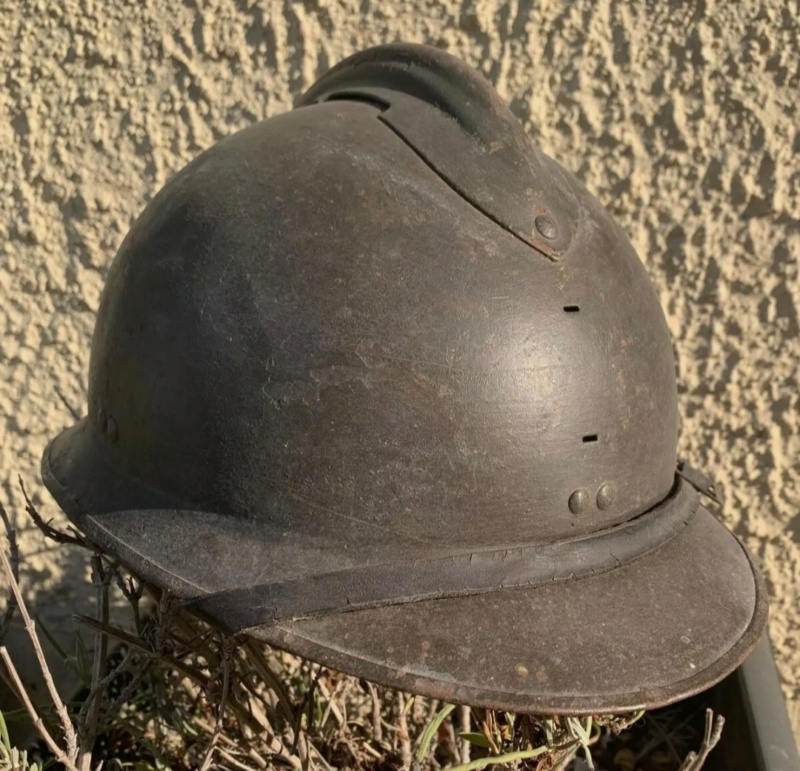 avis Casque Adrian modèle 26 complet insigne allemand Heer ww2 Img_2255