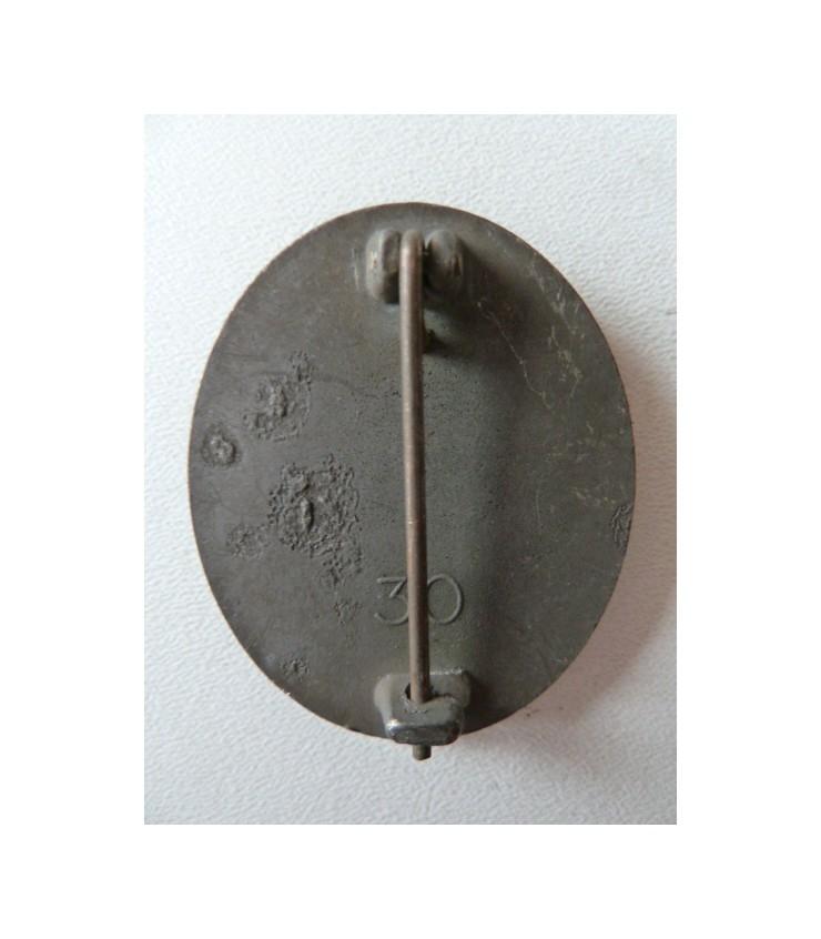 Authentification badge blessė de guerre Save_227