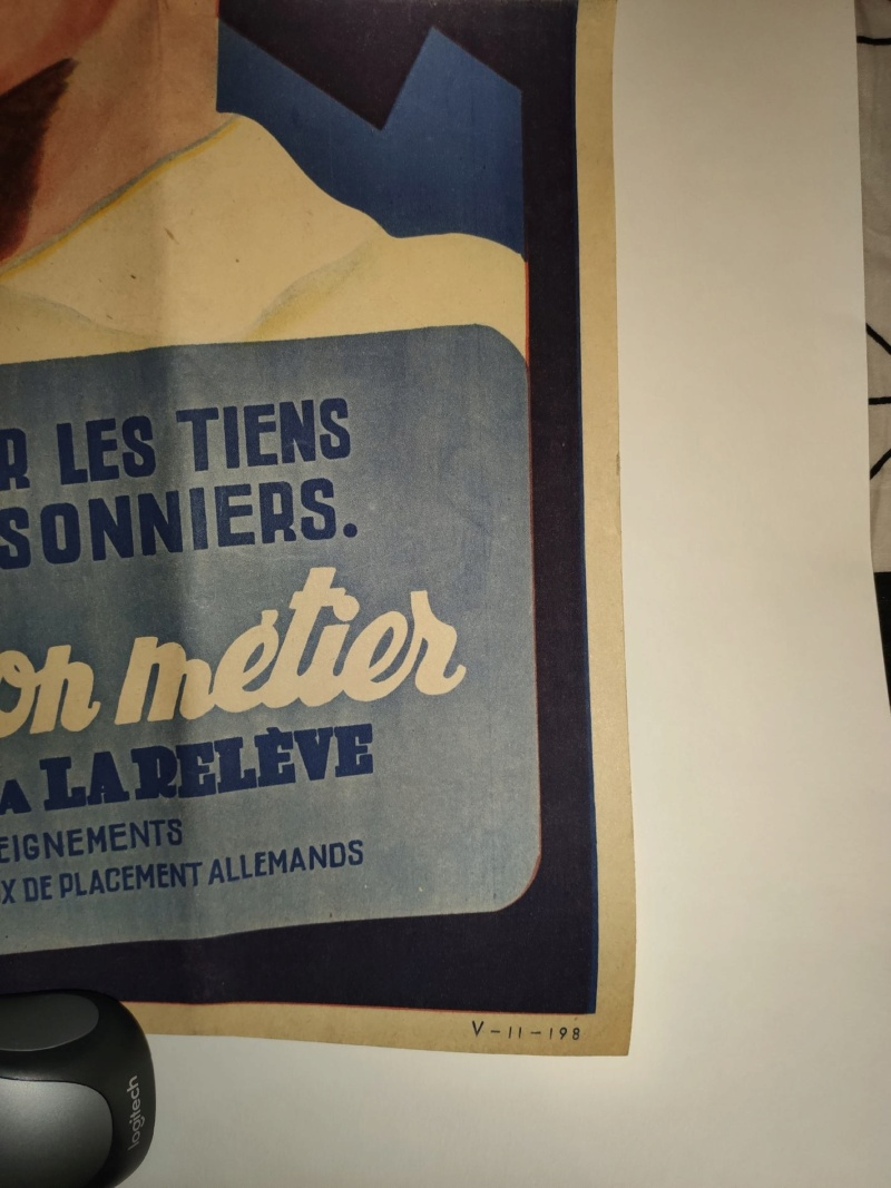 Estimation Affiche propagande Vichy Save_232