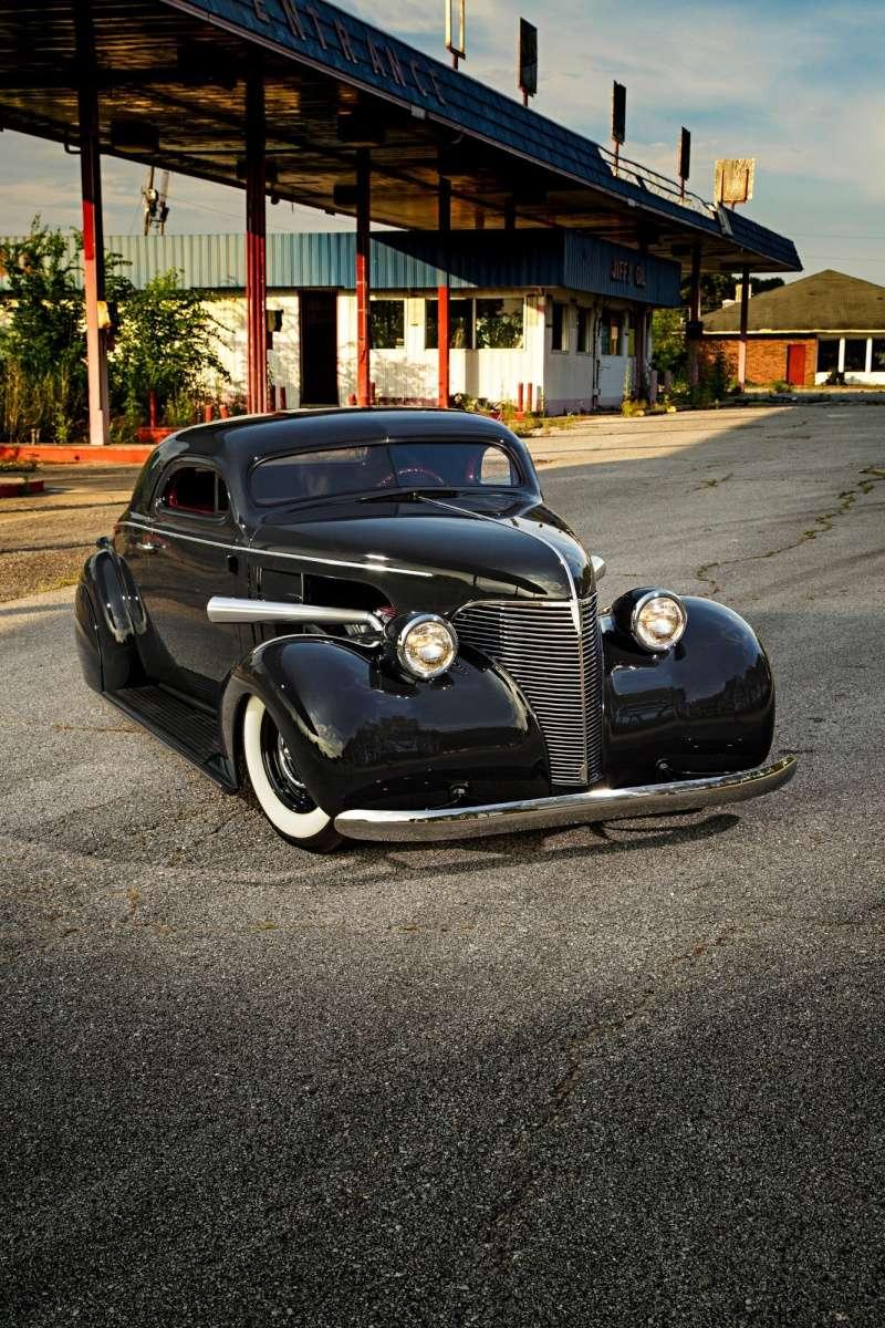 Chevrolet 1936 - 39 custom & mild custom 02-19310