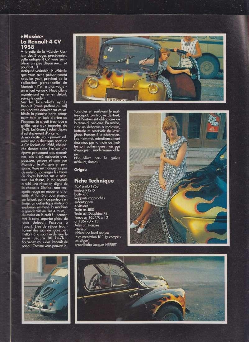 Renault 4 cv customs 05510