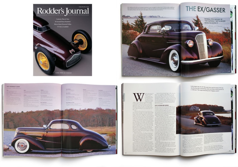 Chevrolet 1936 - 39 custom & mild custom 1034