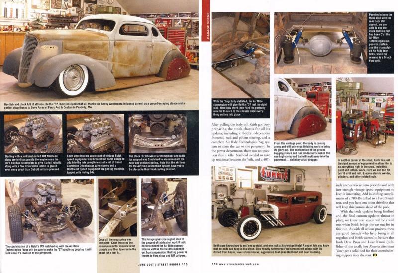 Chevrolet 1936 - 39 custom & mild custom 1132