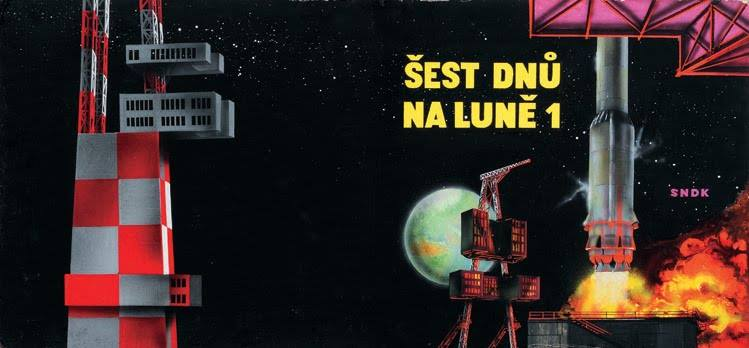 Teodor Rotreckl  - Six Days on Luna One (USSR, 1965) 12376210