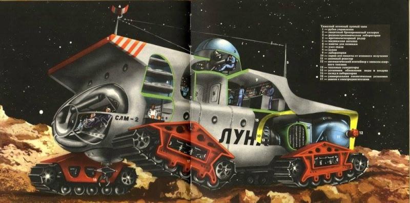 Teodor Rotreckl  - Six Days on Luna One (USSR, 1965) 12402010