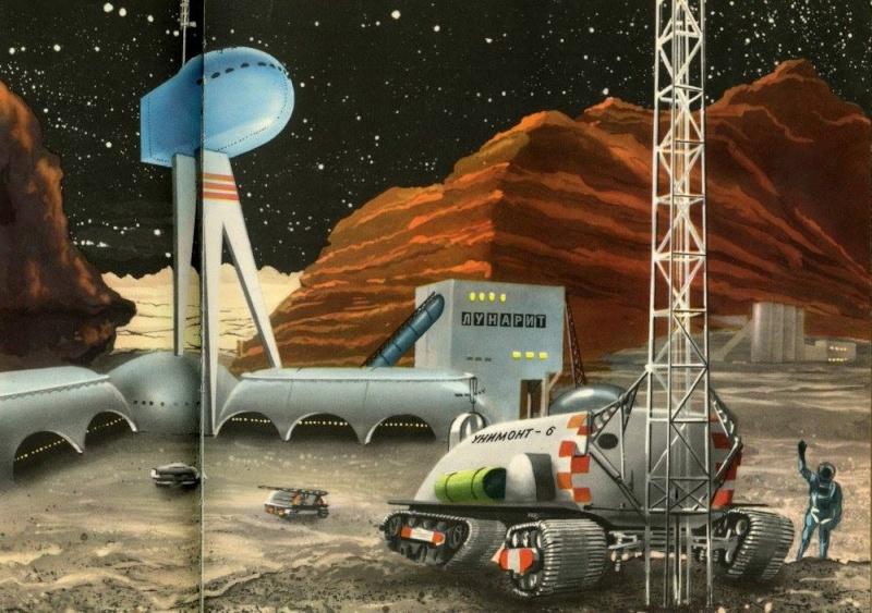 Teodor Rotreckl  - Six Days on Luna One (USSR, 1965) 12466010