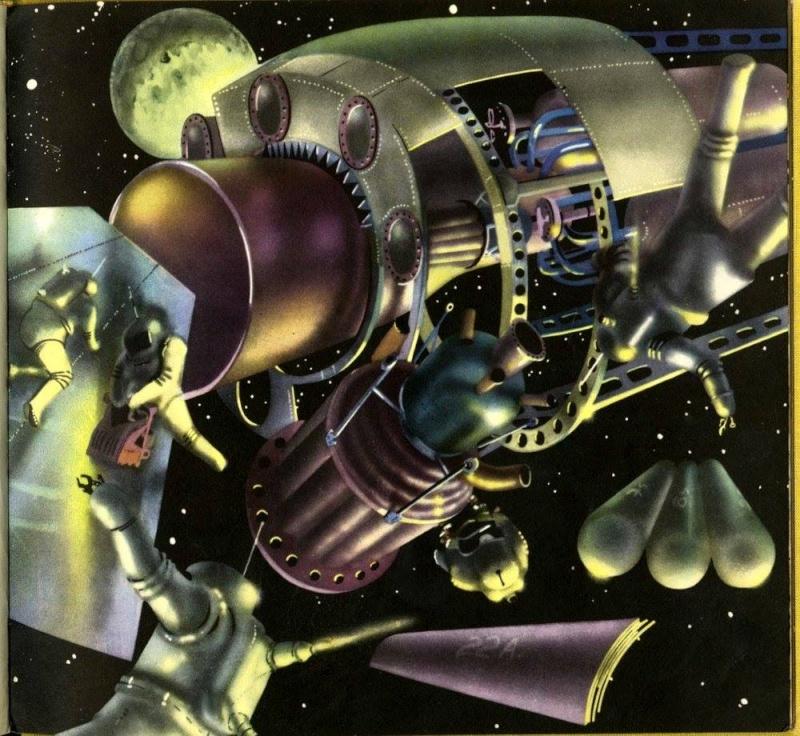 Teodor Rotreckl  - Six Days on Luna One (USSR, 1965) 12473510