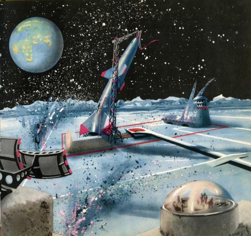 Teodor Rotreckl  - Six Days on Luna One (USSR, 1965) 12509111