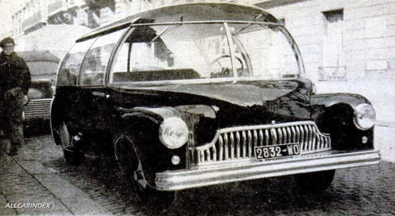 L' Arbel Symetric Nuclear Car Prototype 12509610