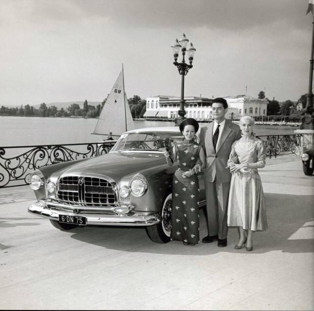 1954 - 1955 Chrysler ST Special (Ghia) 12642410