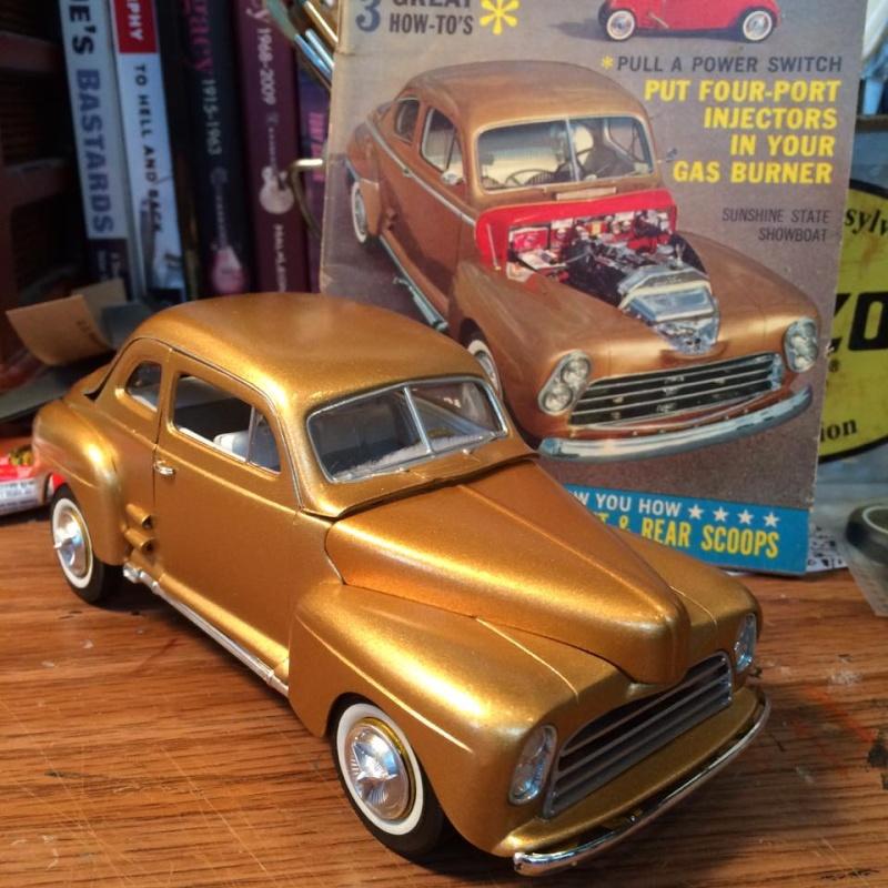 Vintage built automobile model kit survivor - Hot rod et Custom car maquettes montées anciennes - Page 5 12920210