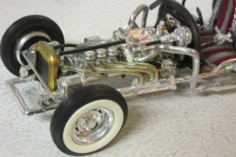 Vintage built automobile model kit survivor - Hot rod et Custom car maquettes montées anciennes - Page 4 12957510