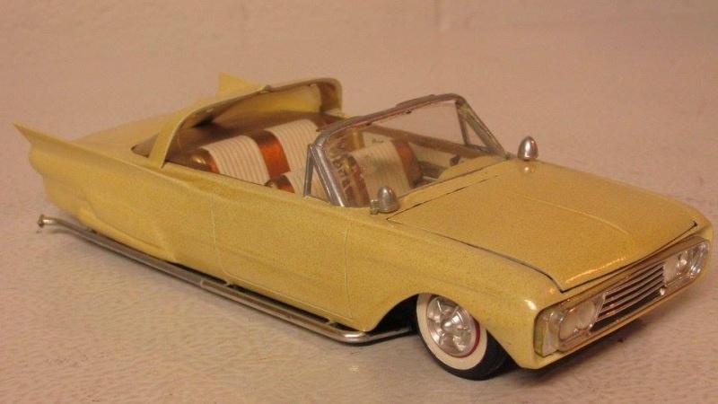 Vintage built automobile model kit survivor - Hot rod et Custom car maquettes montées anciennes - Page 4 12963810