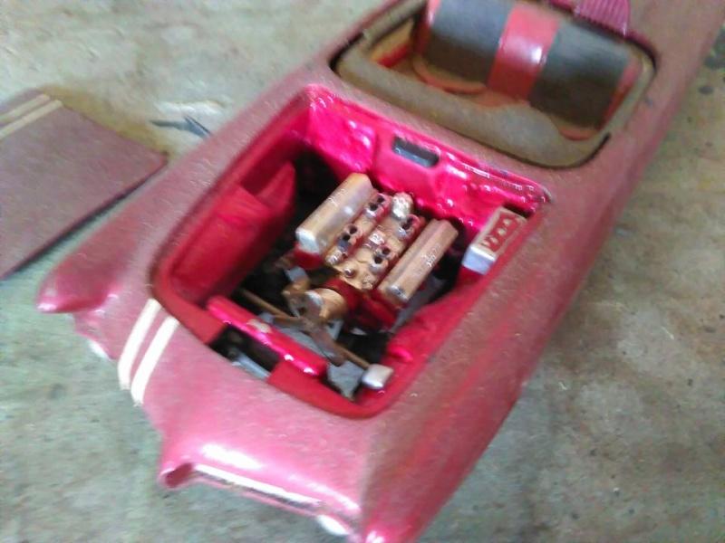 Vintage built automobile model kit survivor - Hot rod et Custom car maquettes montées anciennes - Page 5 12985511